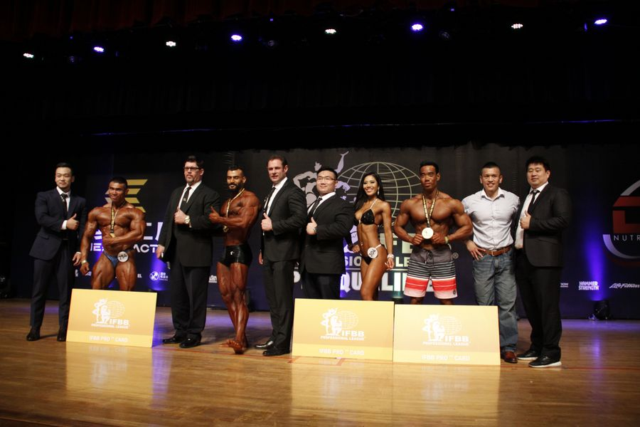 OFFICIAL OVERALL RESULTS |IFBB ASIA PRO QUALIFIER
